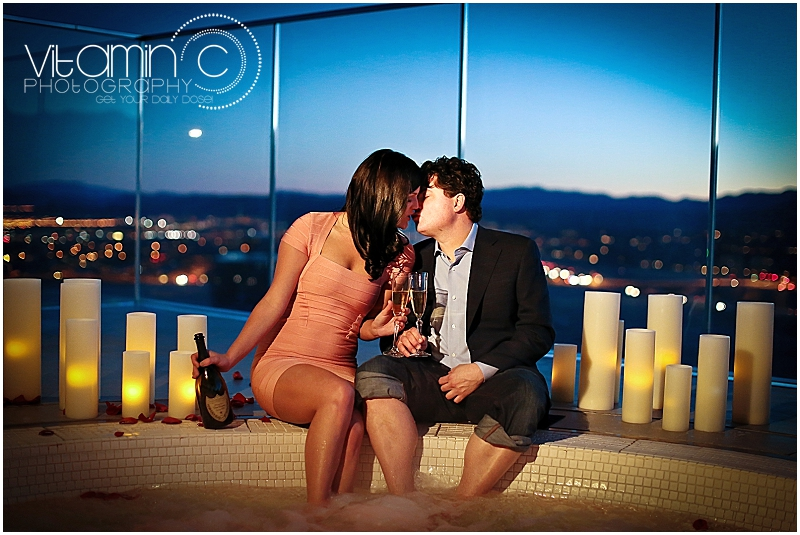 Ashley & Chris | Las Vegas Engagement Photographer